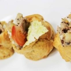 Первый пример блюд при кейтеринге
