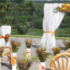 Второй пример свадьбы под ключ студии КреАТив