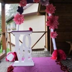Объемные буквы Love - свадебный декор