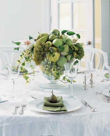 оформление свадьбы фруктами фото