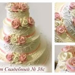 Десятый пример свадебного торта
