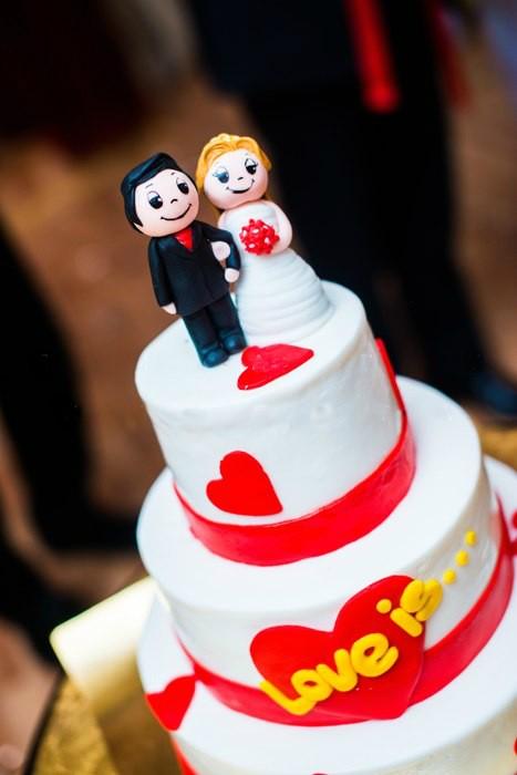 оформление свадьбы love is