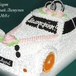 Шестой пример свадебного торта
