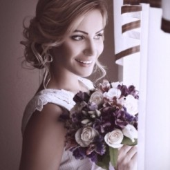 Второй пример прически/укладки/макияжа Екатерины Киевской