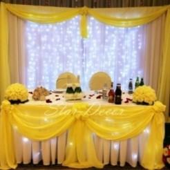Оформление свадебного ресторана Авиньон