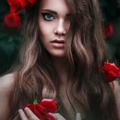 Второй пример макияжа/прически Ксении Лопиной
