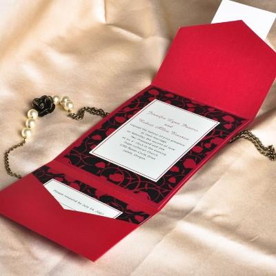 Декор красной свадьбы