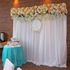 Третий пример оформления свадеб от Limokate