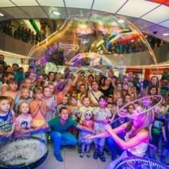Пятый пример шоу мыльных пузырей Татьяны Гуничевой