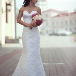 Второй пример свадебного платья в салоне Верона