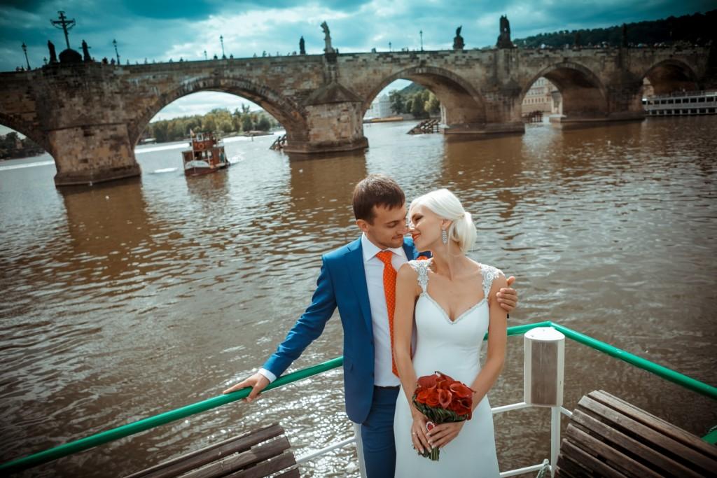 Свадьба Карлов мост
