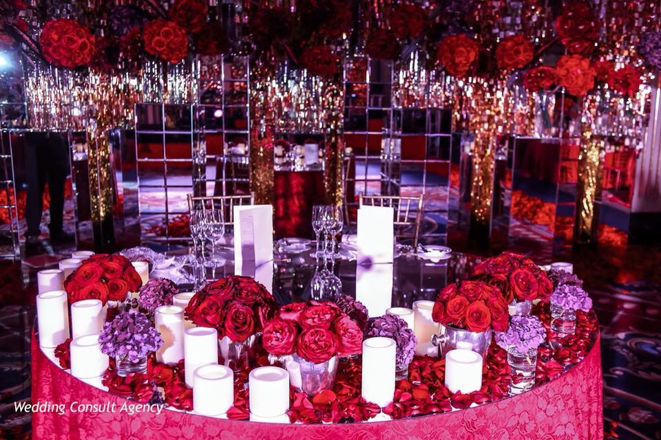 Декор свадьбы Ксении Афанасьевой