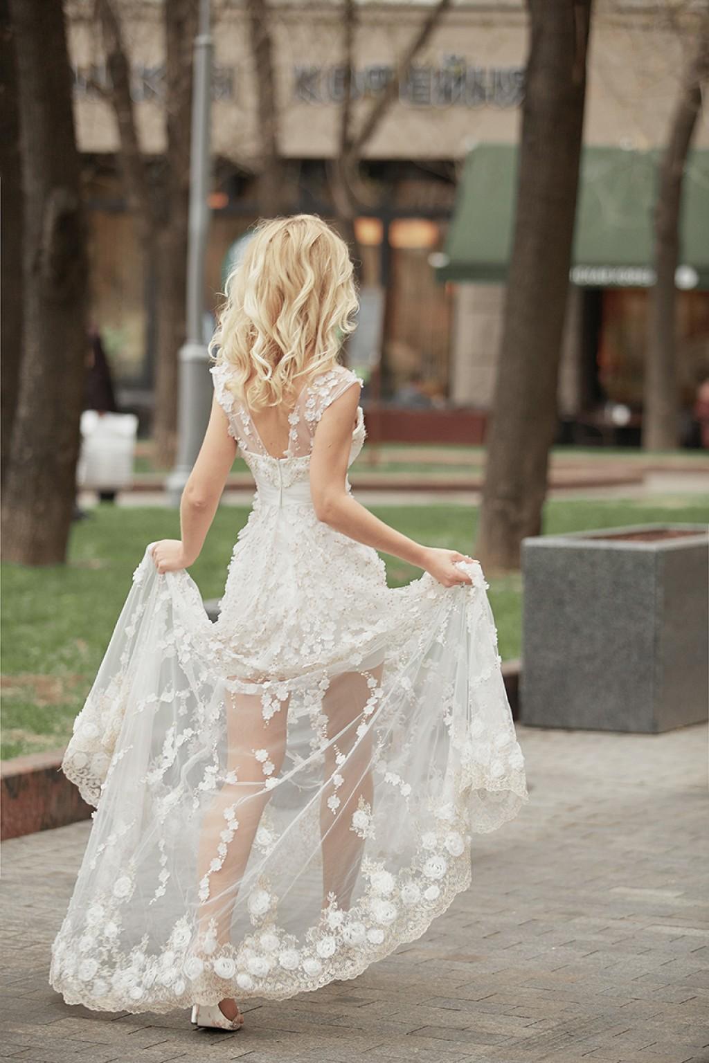 локоны на свадьбу