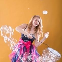 Четвертый пример шоу мыльных пузырей Екатерины Тихоновой Showtime