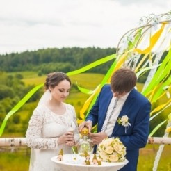 Первый пример свадьбы под ключ студии КреАТив