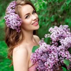 Пятый пример макияжа/прически Ксении Лопиной