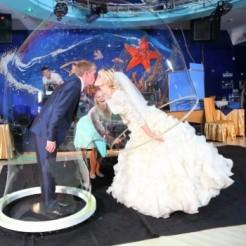 Пятый пример шоу гигантских мыльных пузырей Татьяны Медведевой