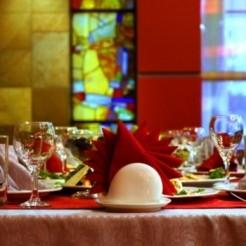 Интерьер ресторана La-Roka на свадьбу