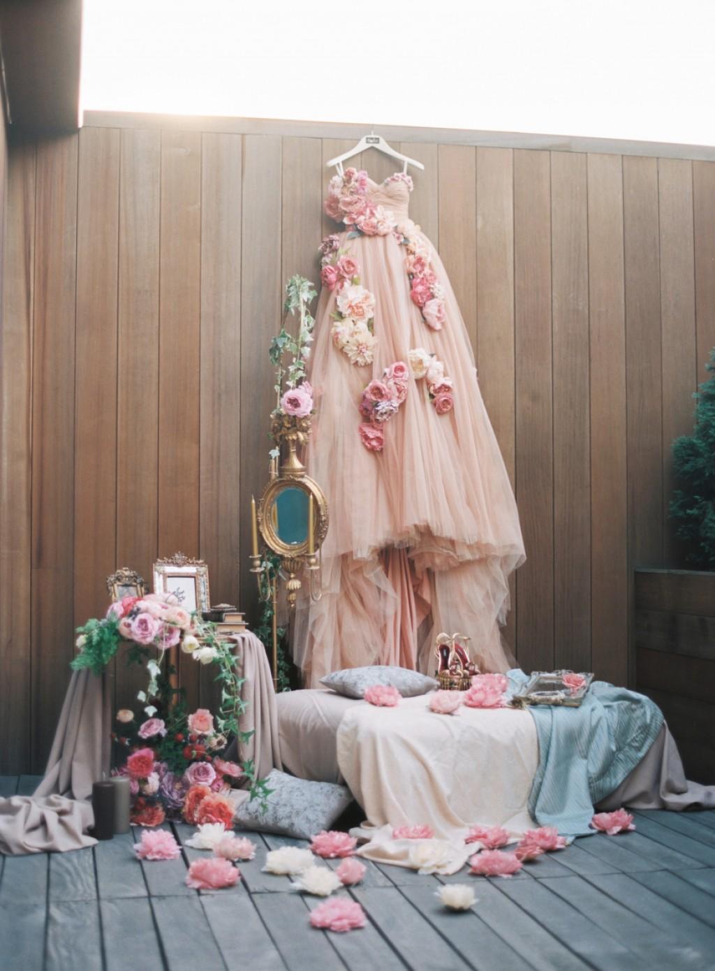 свадебное платье в стиле Dolche Gabbana