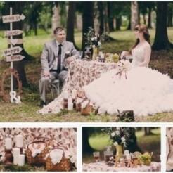 Декор свадьбы от студии Джем
