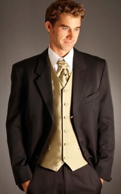 золотой галстук жениха