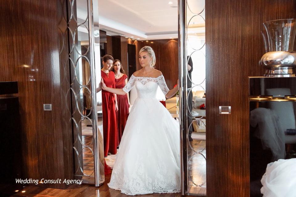 Свадебное платье Ксении Афанасьевой