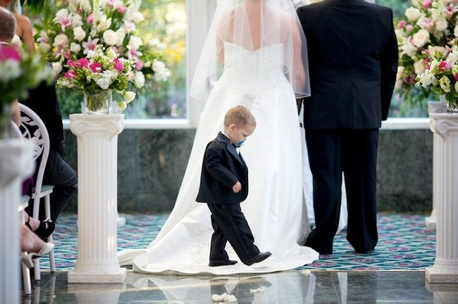 Свадьба и ребенок