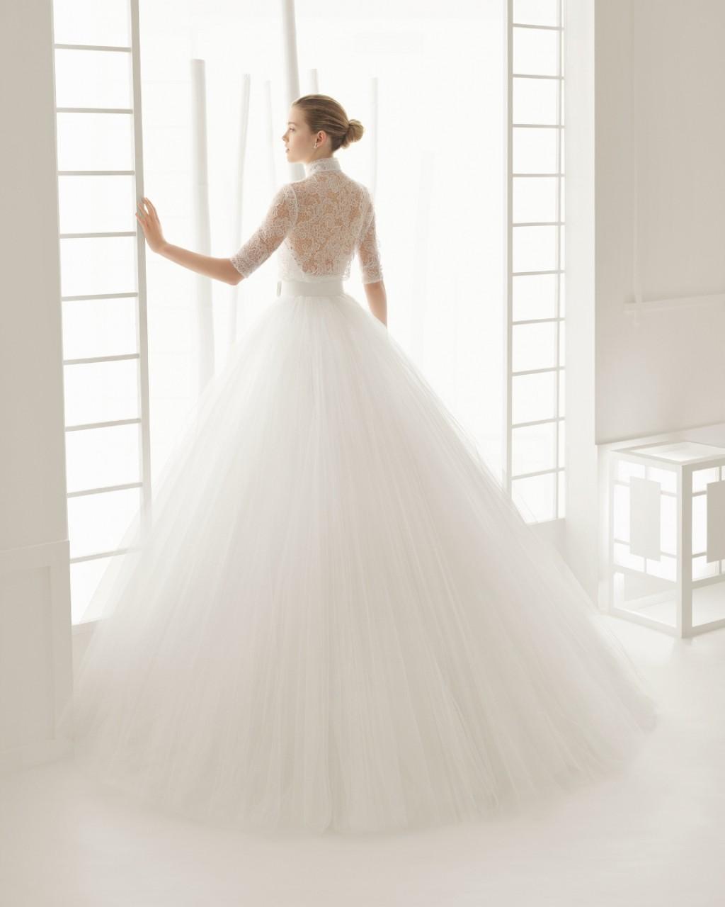 свадебные платья роза клара