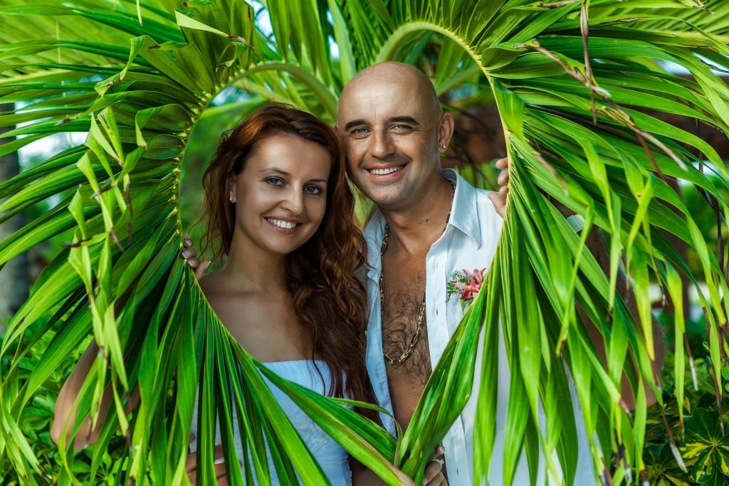 свадебные церемонии на островах