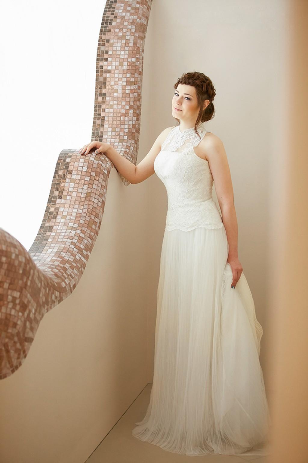 косы на свадьбу