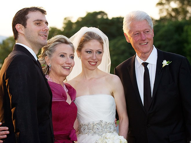 свадьба Челси Клинтон